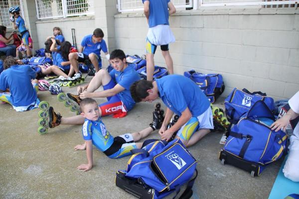 Los deportistas del club municipal de for Piscina municipal arganda del rey