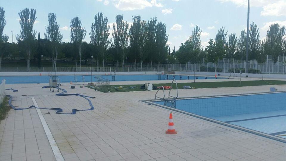 Las piscinas municipales se preparan for Se hacen piscinas
